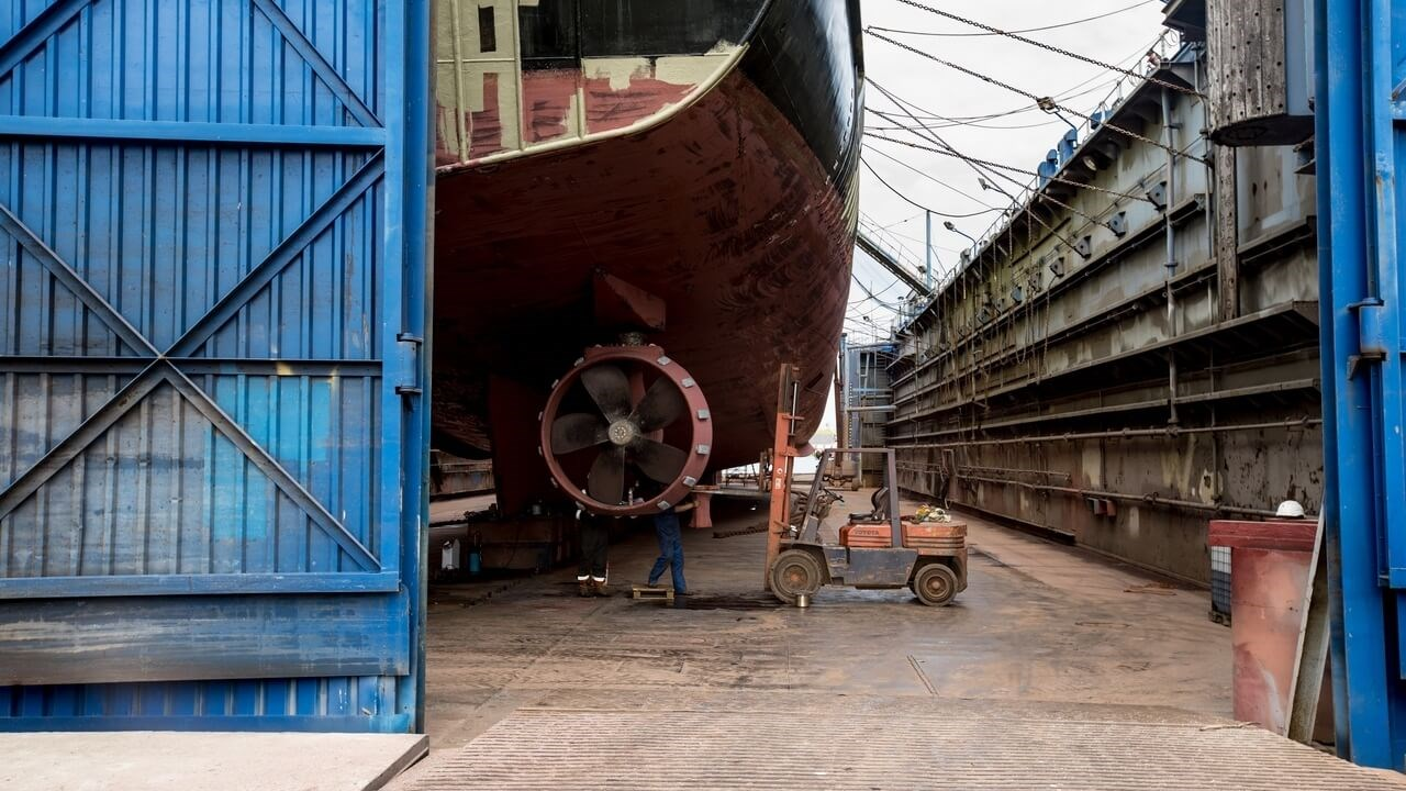 Damen Maaskant Shipyards Stellendam Facilities