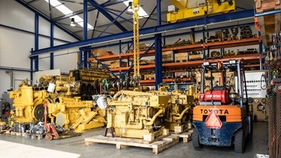 Caterpillar workshop