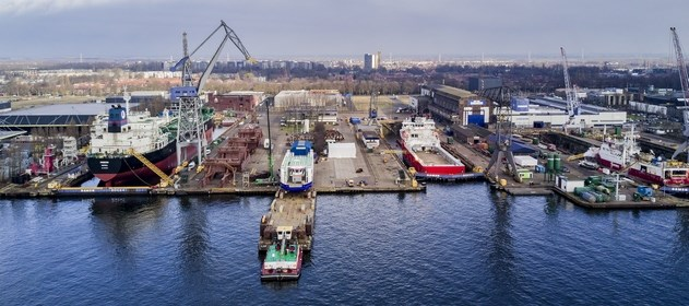 Facilities at Damen Shiprepair Amsterdam