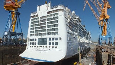 "Damen Shiprepair Brest ""Norwegian Epic"""
