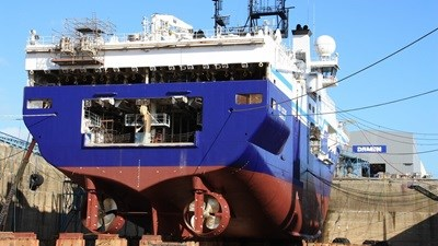 "Damen Shiprepair Brest ""Geo Celtic"""
