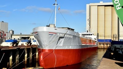 "Damen Shiprepair Harlingen ""Star Bonaire"" tanker"