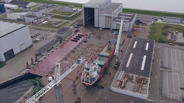 Damen Shiprepair Harlingen