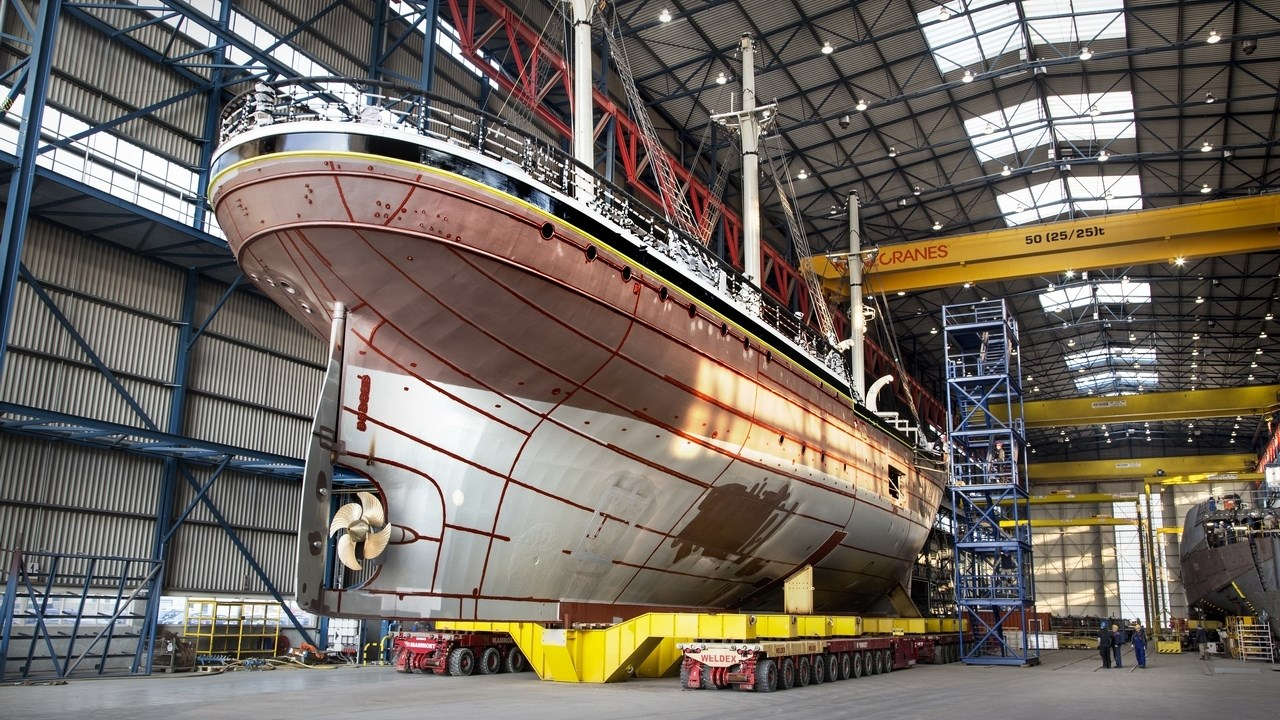Damen Shiprepair Vlissingen workshop