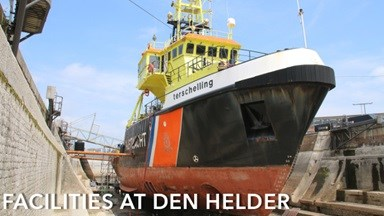 Facilities at Den Helder