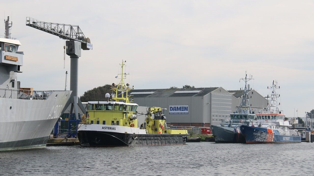 Damen Shipyards Den Helder